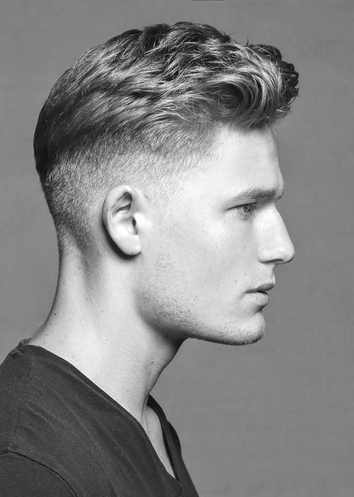 Corte de pelo fade para hombres en pinterest - Peinados para hombres 2015 ...